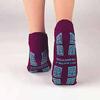 PBE Slipper Socks Tred Mates Adult Medium Royal Blue Ankle High MON 215146EA