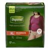 Kimberly Clark Professional Depend® Protective Underwear (38529), XL, 68/CS MON 38293100