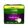 Kimberly Clark Professional Depend® Underwear for Women, White, Small/Medium, 19/PK MON 38303101