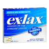 Novartis Laxative ex-lax Tablet 30 per Box 15 mg Strength Sennosides USP MON 38352700