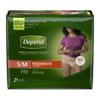 Kimberly Clark Professional Depend® Underwear for Women, White, Small/Medium, 21/PK MON 38353101