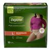 Kimberly Clark Professional Depend® Protective Underwear (38536), Large, 19 EA/PK MON 38363101