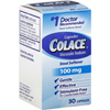 Purdue Pharma Laxative Colace Capsule 30 per Box 100 mg Strength Docusate Sodium MON 38472700