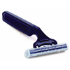 Donovan Industries Fixed Head Razor Grip-N-Glide Twin Blade, Disposable Non-Sterile, 100EA/BX MON 38791700