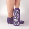 PBE Sock Slpr Purp Adlt 2Xlg 2/Pr 48PR/CS MON 39011000