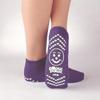 PBE Sock Slipper Purp Adult XL MON 39111002