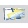 Cypress Exam Glove Cypress Plus® PF NonSterile Powder Free Latex Smooth Ivory Small Ambidextrous, 100EA/BX MON 39221300