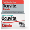 Bausch & Lomb Eye Vitamin and Mineral Supplement with Lutein Ocuvite 1000 IU / 60 IU / 200 mg / 2 mg Strength Tablet 120 per Bottle MON 39392700