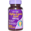 Natrol Alpha Lipoic Acid Supplement Natrol 600 mg Strength Capsule 30 per Bottle MON 39622700