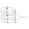 """Ring Panel Link Filters Economy: EMED Technologies - Subcutaneous Infusion Set Sub-Q 27 Gauge 6 mm 36"""" Tubing Without Port, 10 EA/BX"""