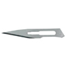 Miltex Medical Scalpel Blade Surgical Size 11 Size 11 Carbon Steel Surgical Grade MON 40112500