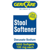 Major Pharmaceuticals Stool Softener Softgel 1000 per Bottle MON 40122700