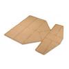 Dukal Eclypse® Boot Super Absorbent Dressing (CR4014), 5/BX MON 40142105