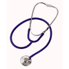 Mabis Healthcare Classic Stethoscope Mabis Spectrum Blue 1-Tube 22 Tube Single Sided Chestpiece - Diaphragm Only MON 40192500
