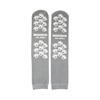slippers: McKesson - Slipper Socks Adult 2 X-Large Gray Above the Ankle