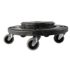 Rubbermaid Brute® Round Dollie 3 Inch Casters 350 lbs. Without Handle Polyethelene MON 521312EA