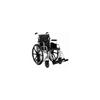 Merits Health Transport Wheelchair High Strength Lightweight Padded Flip Back Desk Arm Mag Black 16 250 lbs. (L405NMDIMU) MON 766965EA