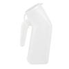 Medegen Medical Products LLC Male Urinal, Polyethylene, Translucent, 50 EA/CS MON 40802950