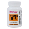 McKesson Vitamin B-6 Supplement 100 mg Tablets, 100EA per Bottle MON 40912700