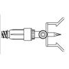 B. Braun Dispening Pin Mini Spike MON 349479EA