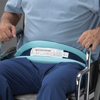 Posey Wheelchair Safety Belt One Size Fits Most Slide Buckle Fastening MON 41353000