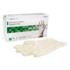 Gloves Latex: McKesson - Exam Glove Confiderm NonSterile Powder Free Latex Textured Fingertips Ivory Medium Ambidextrous