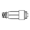 B. Braun Luer Access Device Ultrasite®, 100 EA/CS MON 349477CS