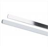 DJO Finger Splint Procare Padded Strip Aluminum / Foam Silver One Size Fits Most MON 41633000