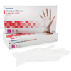 Exam & Diagnostic: McKesson - Exam Glove Confiderm NonSterile Powder Free Vinyl Smooth Clear Small Ambidextrous
