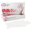 McKesson Exam Glove Confiderm NonSterile Powder Free Vinyl Smooth Clear Small Ambidextrous MON 41641310
