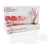 McKesson Exam Glove Confiderm NonSterile Powder Free Vinyl Smooth Clear Medium Ambidextrous MON 871023CS
