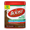 Milk Chocolate Milk: Nestle Healthcare Nutrition - Oral Supplement Boost® High Protein Rich Chocolate 17.7 oz. Canister Powder
