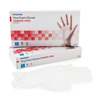 Exam & Diagnostic: McKesson - Exam Glove Confiderm NonSterile Powder Free Vinyl Smooth Clear Large Ambidextrous