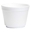 Wincup Bowl Wincup White Disposable Foam 4-1/2, 25/SL MON 1092910SL