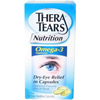 Advanced Vision Research Omega-3 Fish Oil Supplement TheraTears Nutrition 183 IU / 1600 mg Strength Capsule 120 per Bottle MON 42482700