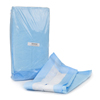 McKesson Underpad 17 x 24 Disposable Fluff Light Absorbency MON 42713100