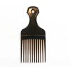 Cardinal Comb & Brush Hair Pick Medium Black Polypropylene, 12EA/DZ MON 42761700