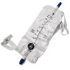 Drainage: Dynarex - Urinary Leg Bag Anti-Reflux Valve 1000 mL Vinyl