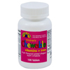 Geri-Care Children's Multivitamin Health Star 2500 IU / 400 IU / 60 mg Strength Chewable Tablet 100 per Bottle MON42872700