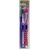 Geiss, Destin & Dunn Toothbrush with Tongue Cleaner GoodSense Purple / Red Adult Soft MON 43101700
