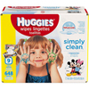 Personal Care & Hygiene: Kimberly Clark Professional - Huggies® Aloe Baby Wipes, Soft Pack, (43250), Clean Scent, 648/CS