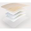 Molnlycke Healthcare Foam Dressing Mepilex Border Flex 6 X 6 Inch Square Adhesive with Border Sterile, 5/BX MON 1114381BX