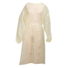 workwear coverings: McKesson - Isolation Gown Medi-Pak® Performance One Size Fits Most Polypropylene Yellow Adult, 50EA/CS