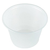 Saalfeld Redistribution Souffle Cup Solo 4 oz. Translucent Plastic, 250EA/PK 10PK/CS MON 44401210