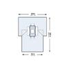 McKesson Abdominal Drape Laparotomy Drape 102 W X 76 W X 120 L Inch Sterile, 10/CS MON 1101290CS