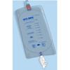 Urocare Products Urinary Leg Bag Uro-Safe Anti-Reflux Valve 950 mL Vinyl, 12/CS MON 1102067CS
