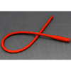 Amsino International Urethral Catheter AMSure Straight Tip Red Rubber 16 Fr. 16 MON 44611900