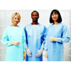 workwear healthcare: Cardinal Health - Impervious Gown Convertors® One Size Fits Most Polyethylene Blue Adult, 75EA/CS