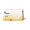 Hartmann Bladder Control Pad Dignity ThinSerts 12 Length Light Absorbency Polymer Unisex MON 336281BG