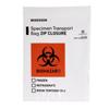 McKesson Specimen Transport Bag 8 X 10 Inch Plastic Biohazard Symbol / Storage Instructions Zip Closure NonSterile, 1000/CS MON 940572CS